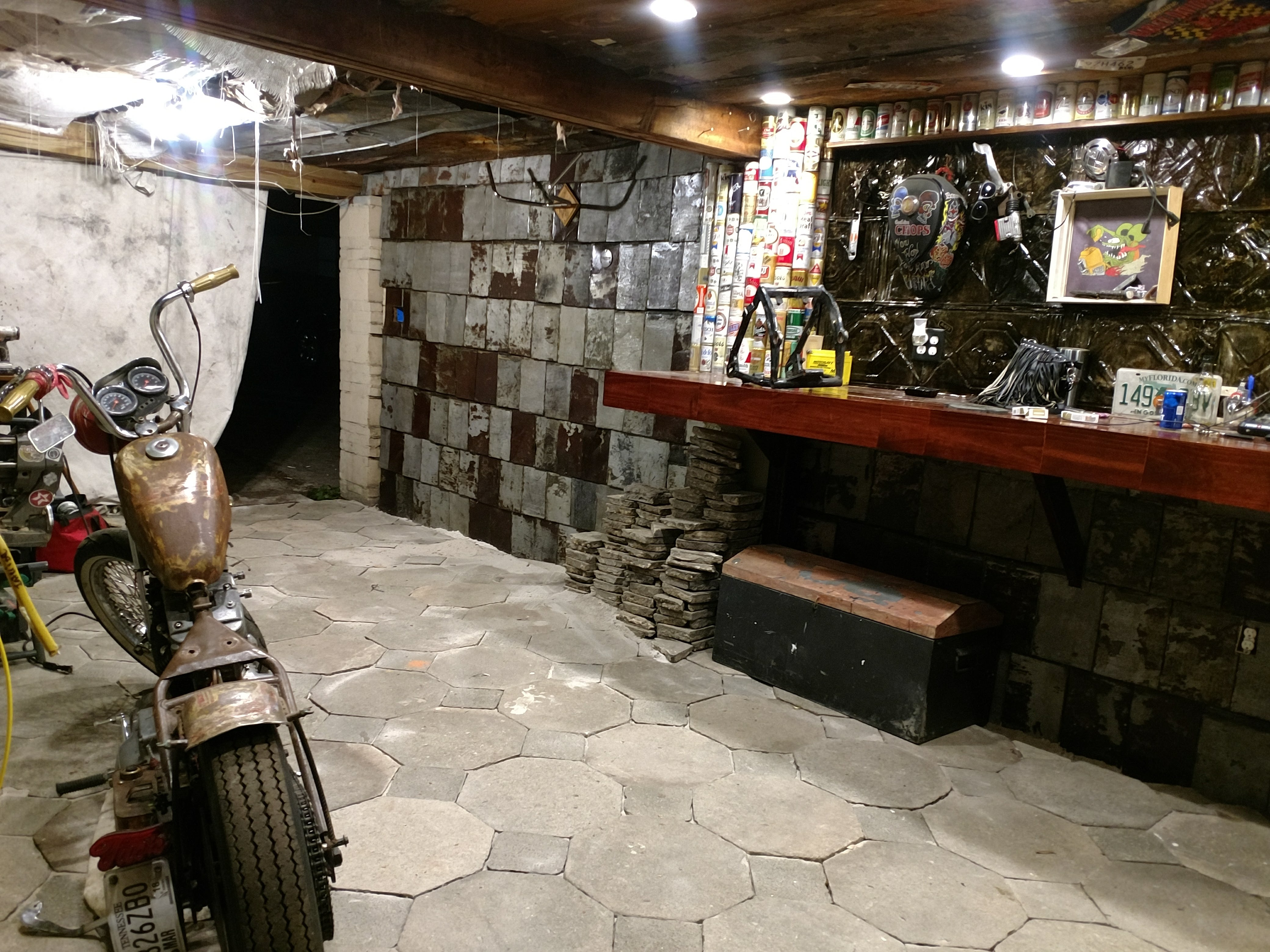 Garage To Man Cave Remodel Soul Creations
